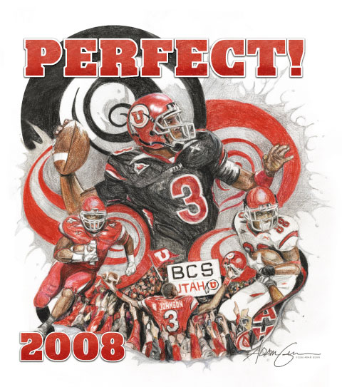 Tribute to the University of Utah 2008 Football Team